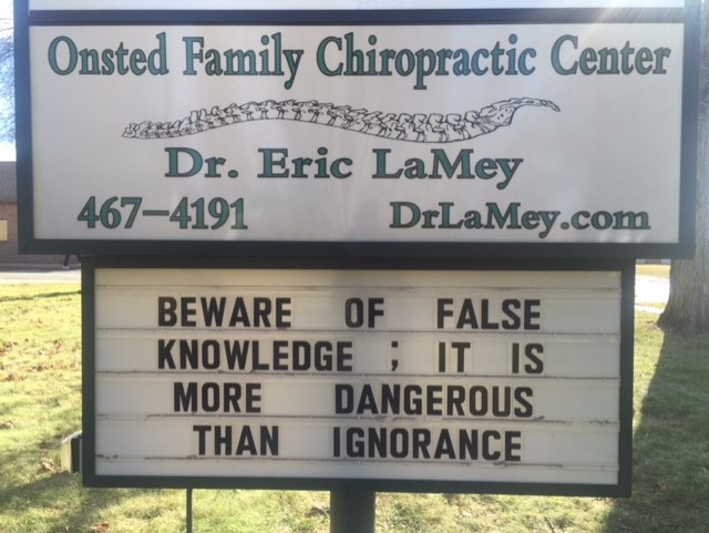 Onsted Michigan Chiropractor