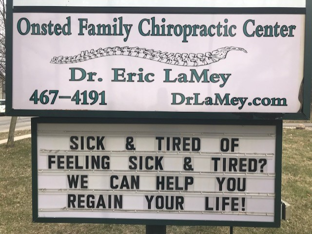 Onsted MI Chiropractor